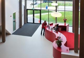 Interieur kantoren Stenden Hogeschool Leeuwarden 2008 – 2010