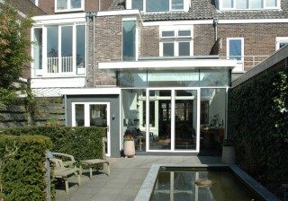Uitbreiding woonhuis Nassaulaan Alkmaar